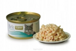 Brit Care Kitten Chicken PUSZKA 80g