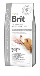 Brit GF Veterinary Diet Dog Mobility 12 kg