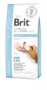 Brit GF Veterinary Diet Dog Obesity 12 kg