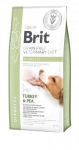Brit GF Veterinary Diet Dog Diabetes 2 kg