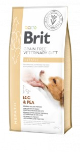 Brit GF Veterinary Diet Dog Hepatic 12 kg
