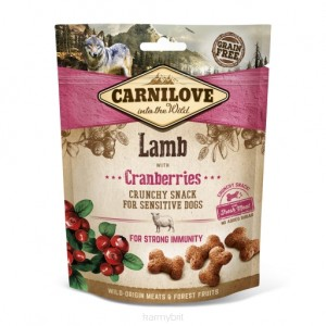 CARNILOVE CRUNCHY SNACK LAMB WITH CRANBERRIES 200g